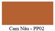 Màu Cam Nâu - PP02 - Nội thất 190