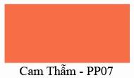 Màu Cam Thẫm - PP07 - Nội Thất 190